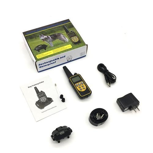 Электронный ошейник для дрессировки Petcomer Р-880 для собак от 5 кг.